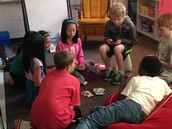 One group chose to play UNO after testing