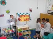 Sports store is open