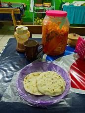 Most Popular Salvadorian food is The Pupusas
