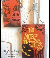 $12 - Halloween Signs
