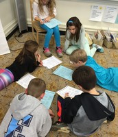 Students read examples of speeches to identify what strong opinion writers do