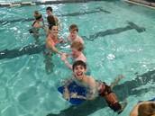 Swimming with Peer Tutors