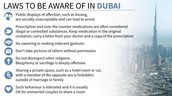Dubai's Laws