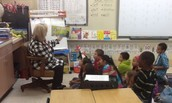 Reading with Mrs. Mann
