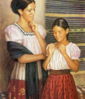 Tia Dolores gave the necklace to Josefina