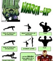 Hulk Warm-Up