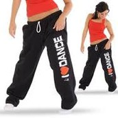I Love Dance Sweat Pants!!