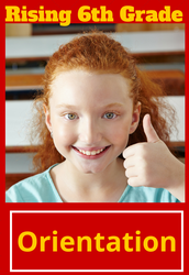 Rising 6th Grade Orientation for Future Red Devils