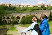 Cycling in Rothenburg