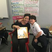 Thank you Jen George for being our Mystery Reader!!