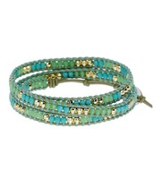Wanderlust Wrap - Turquoise $30