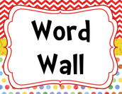 Interactive Word Wall Video