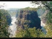 Zambian canyon