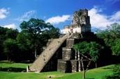 a mayan ruin