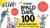 Septemeber 13 - Centennial Celebration of Roald Dahl