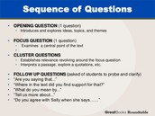 Sequence of Questions