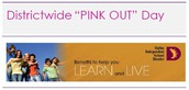 """Districtwide """"PINK OUT"""" Day 10/7"""