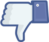 What type of content is inappropriate to post on Facebook?