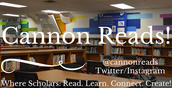 UPDATES FROM CANNON LEARNING COMMONS!