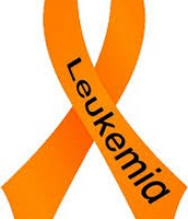 This is the ribbon for leukemia.