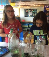 Observing Biodome Plant Growth