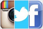 Follow us on social media !