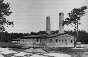 Birkenau crematorium.