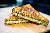 Grilled Pesto Sandwiches