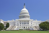 The US Capitol, Arlington National Cemetery,and the White House