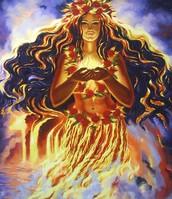 Pele, the Goddess of Volcanoes
