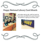 National Library Card Month