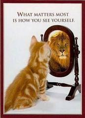 Sois content avec toi-même