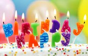 Upcoming Birthdays!