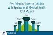 De vijf zuilen van Islam en de zes zuilen van het geloof