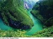 The Xiling gorge location