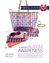 Shop for a cause in April and support autism awareness.