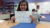 Alyssa and her art work