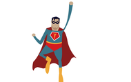 The theme is...LNE Super Heroes