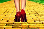 Follow the yellow brick road...kind of