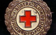 the red cross badge