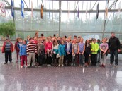 Fifth grade went to the Pequot Museum.