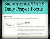 Daily Prayer Focus