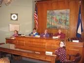 Borough Hall Mock Commissioners Meeting!