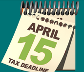 Taxes are Due One Week from Today!