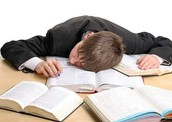 Sleep is an important factor for everything, even studying!