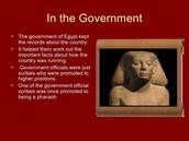 Facts about Egypt's government