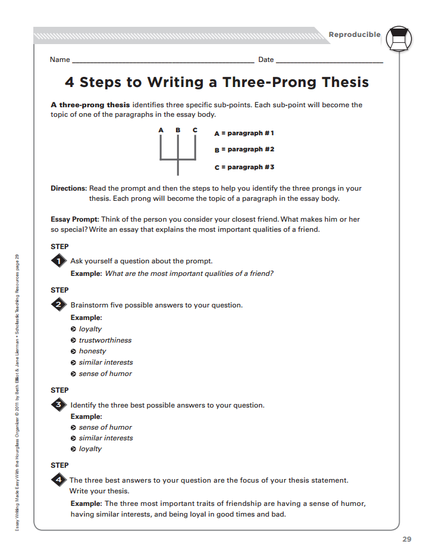 how to write a thesis statement 7th grade