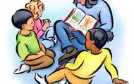 Reading to tots