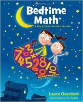 BEDTIME MATH - a new math site and a great resource