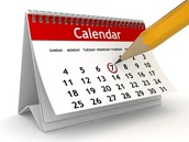 Important Dates to Know-Mark Your Calendars